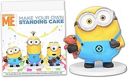 Standing Minions Cake Frame Kit from Dinkydoodle