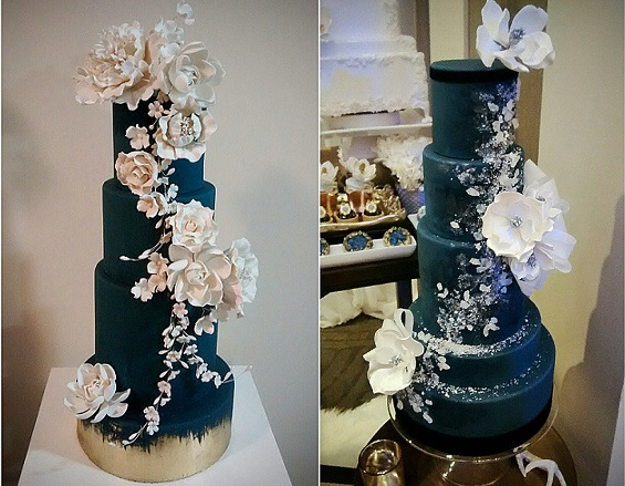 Wedding cakes by Truffle Cake & Pastry