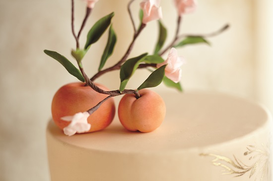 fondant or marzipan peaches tutorial from Pure Artistry by Emily Lael Aumiller