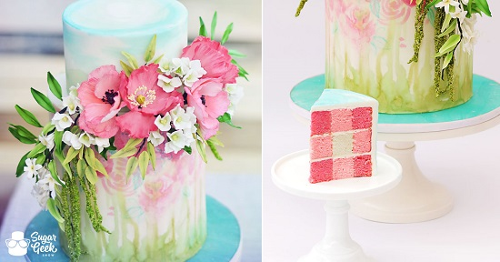 gingham-spring-cake-plaid-inside-sugar-geek-show