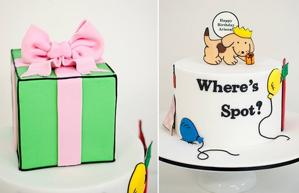 Where's Spot birthday cake by Janet McPherson Cake Design