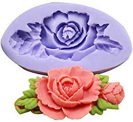 rose and leaves mold