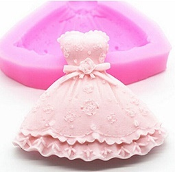 princess dress mold