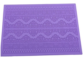 silicone lace mat for edible cake lace