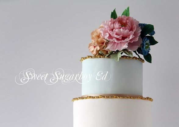 Antique inspired cake by Sweet Sugar Boy Ed