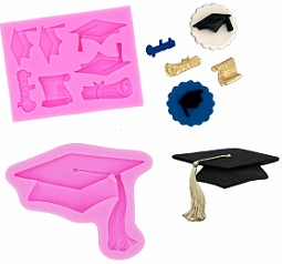 graduation mold, mortarboard mold