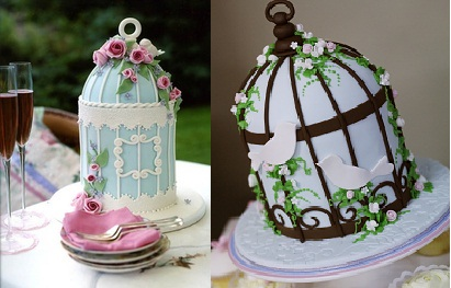 Birdcage cakes by Peggy Porschen Cakes and Emma Watts of Say It With Cake
