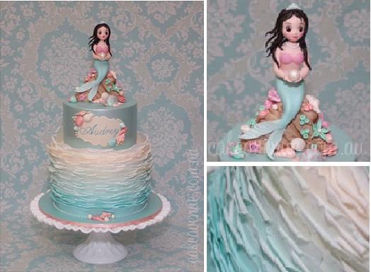 Mermaid Cake designed by Cake Avenue Australia