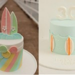 Surfer Cakes by Blissfully Sweet Cakes and Hello Naomi Cakes