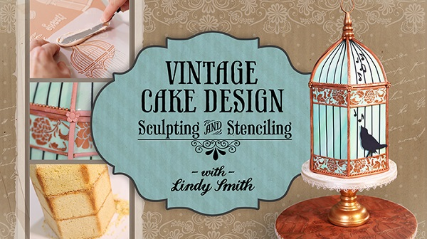 birdcage cake tutorial by Lindy Smith on Craftsy