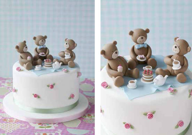 teddy bears picnic cake by Zoe Clark from pianetadonna.it