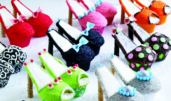 Stiletto Cupcakes by Karen Tack & Alan Richardson as featured in Cupcakes, Cookies & Pie Oh My!