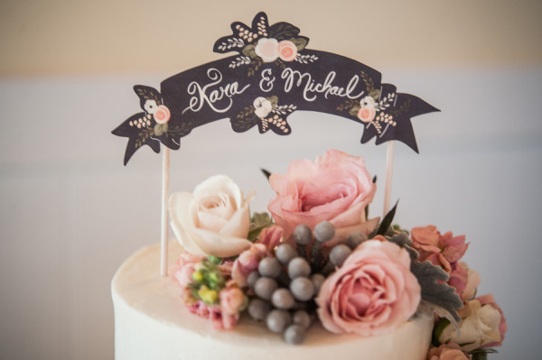 cake topper banner