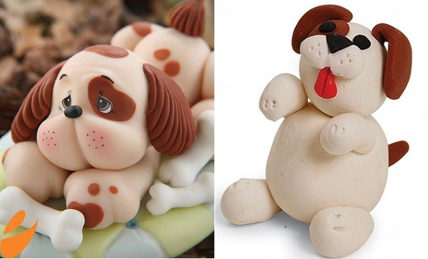 dog cake toppers and tutorials