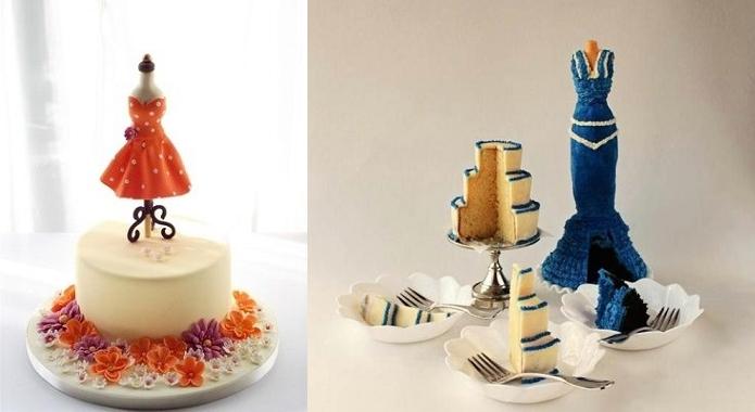fashionista cakes or mannequin cakes