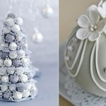 Christmas Truffle Tree (left) recipe by Michelle Southan, pic Ben Dearnley from Taste.com.au and
