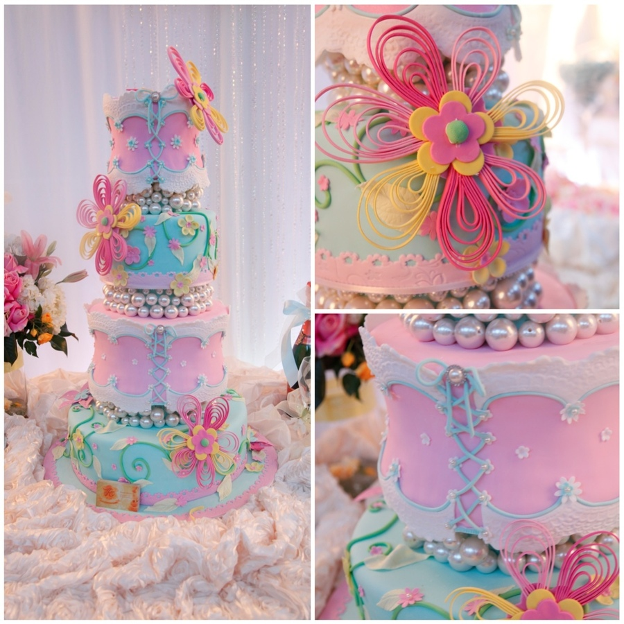 cakes with quilling by Special Cakes by Ruben
