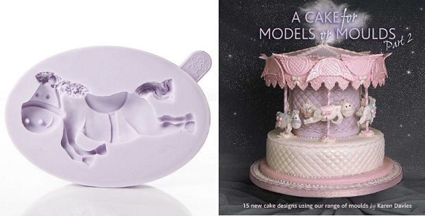 horse mould and carousel cake from Karen Davies