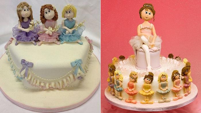 ballerina models ballerina cakes by Karen Davies Sugarcraft