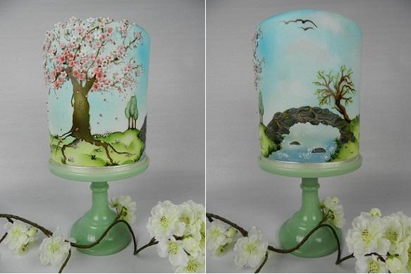 multi dimensional cake decorating by Kim Wiltjer NL