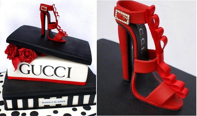 stilletto and shoebox cake tutorial by Verusca Walker