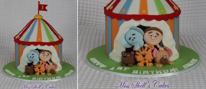 circus cake by Miss Shell's Cakes