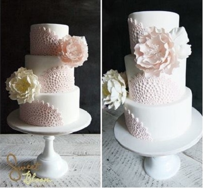 doile lace cakes by Sweet Bloom Cakes, Australia (2)
