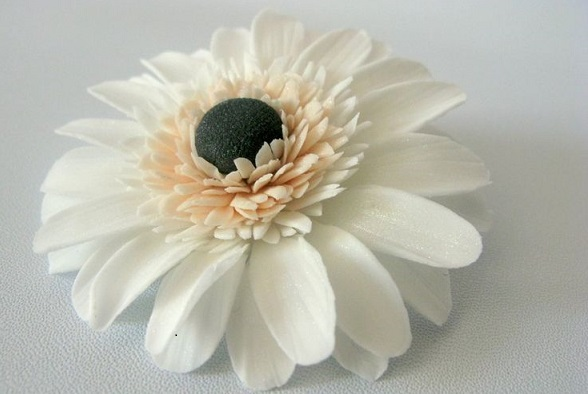 gerbera daisy tutorial sugar flower tutorial from Tarttokig