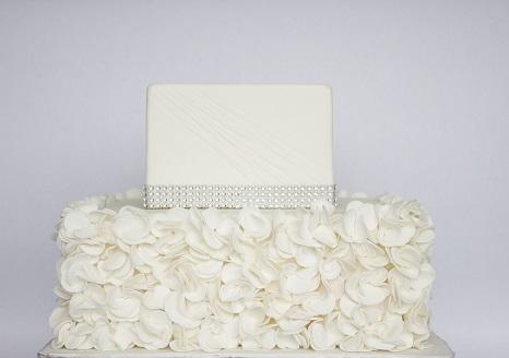 petal ruffles cake tutorial by My Girls Cake Shop