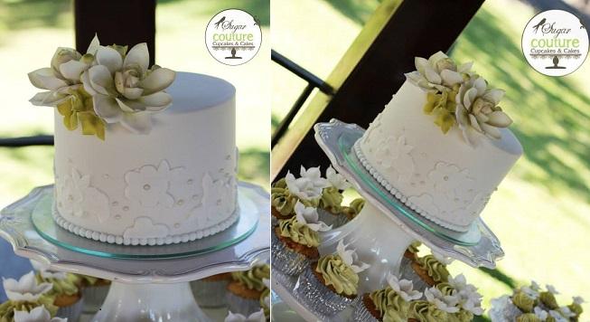 sugar succulents cake by Sugar Couture, Costa Rica