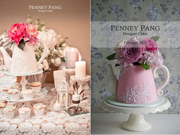 teapot cakes by Penney Pang Designer Cakes