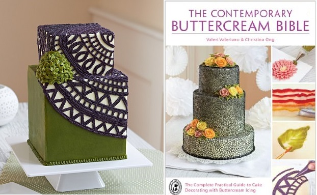 Buttercream Crochet Cake tutorial by Queen of Hearts Couture Cakes