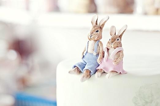 Beatrix Potter cake, Lindy Truter via The Pretty Blog