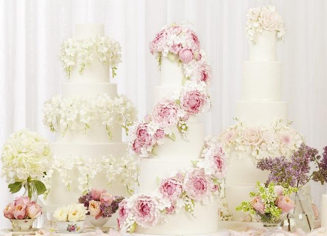 Peggy Porschen's floral wedding cake collection