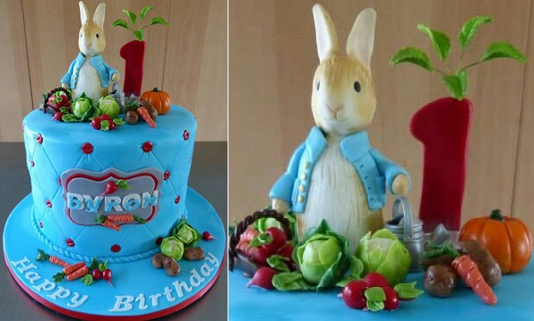 Peter Rabbit Cake Beatrix Potter Cake by Sugar Allure