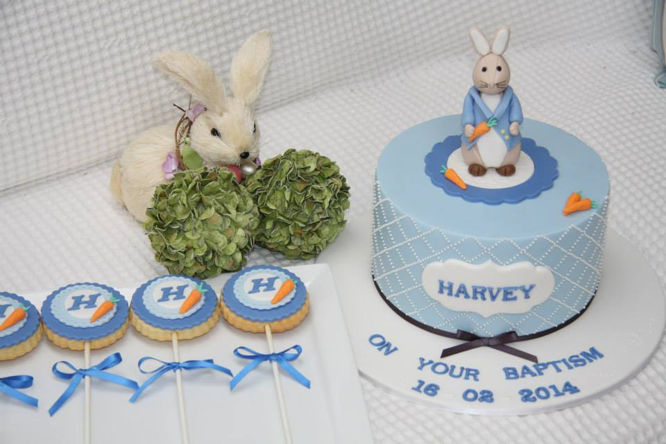 Peter Rabbit cake Beatrix Potter cake by Miss Shell's Cakes