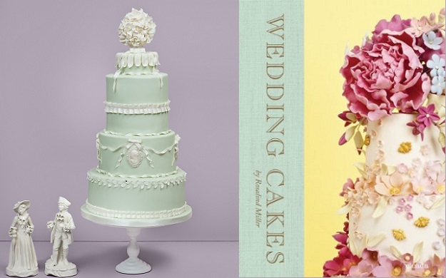 Baroque wedding cake decorating tutorial by Rosalind Miller