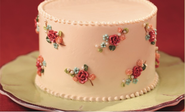 Vintage Buttercream Cake Tutorial