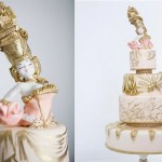 Marie Antoinette cake by The Cake Opera Company