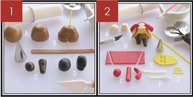 Pirate cake topper Part 1 & 2