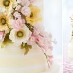 contemporary sugar flower arrangement by Bobbette & Belle