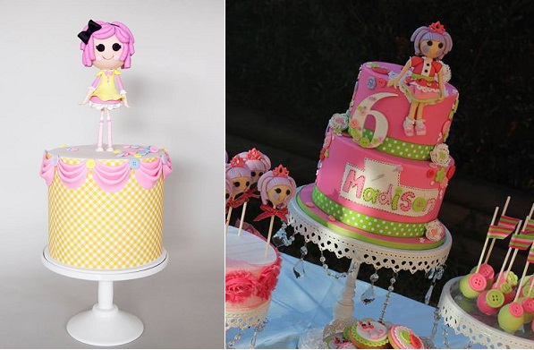 doll cakes by Sweet Tiers Australia left, Cake by Kim AU right