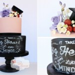 graduation cake by Jen's Little Teacup Bakery
