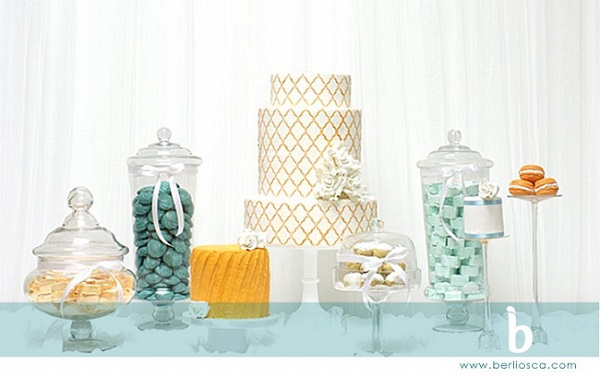 moroccan lattice wedding cake design by Beliosca Cake Boutique