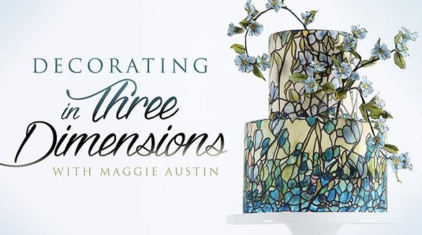 Maggie Austin Craftsy class Decorating in Three Dimensions