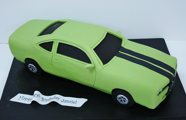 car cake tutorial by Sweet Grace Cake Designs on Cake Fu