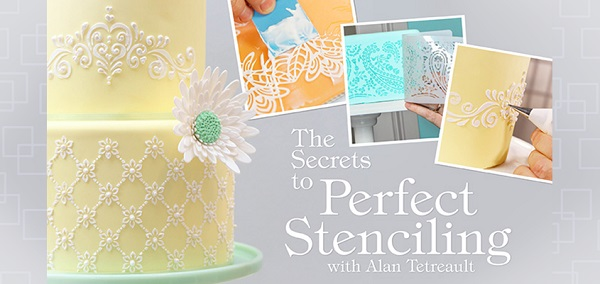 lattice lace cake by Alan Tetreault on Craftsy