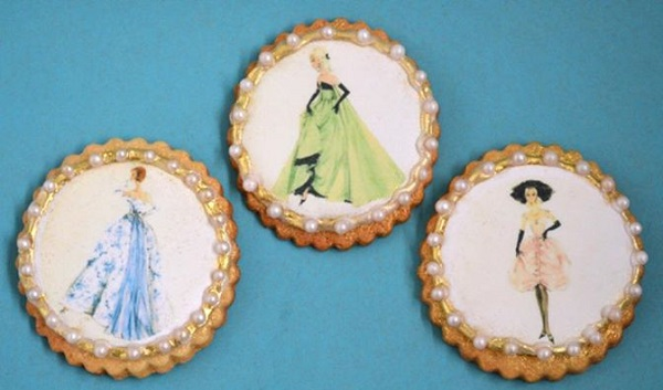 vintage fashion cookies by Muffin Mania NL