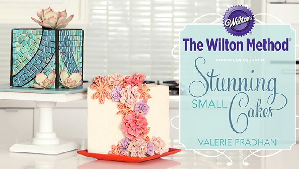 cube cake tutorial by Valeria Prahan on Craftsy for Wilton