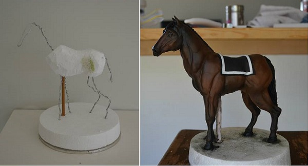 horse cake by Sweet Ruby Cakes